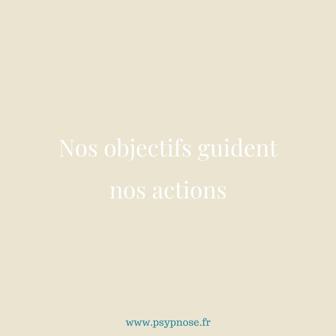 Nos objectifs guident nos actions