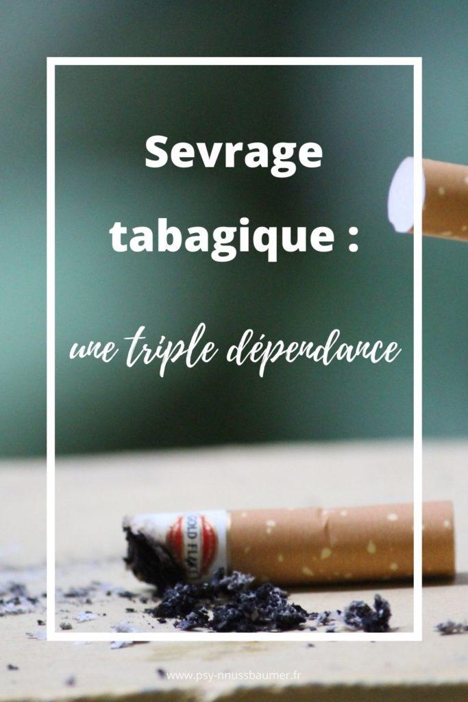 sevrage tabagique : une triple dépendance