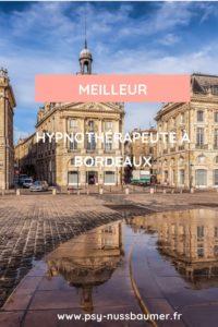 meilleur hypnothérapeute à Bordeaux