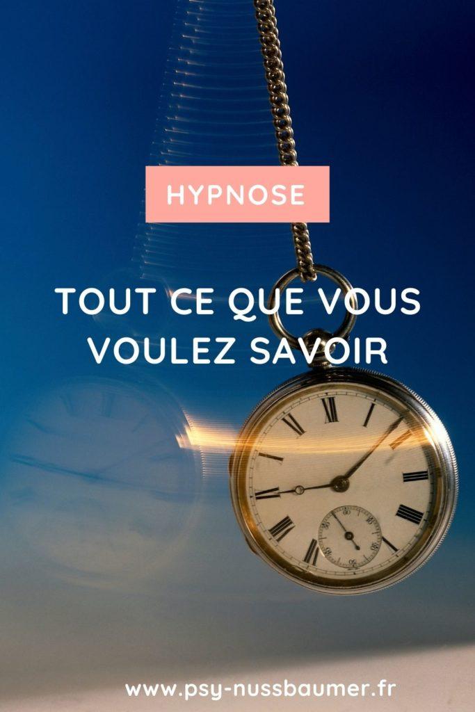 Hypnose tout ce que vous voulez savoir